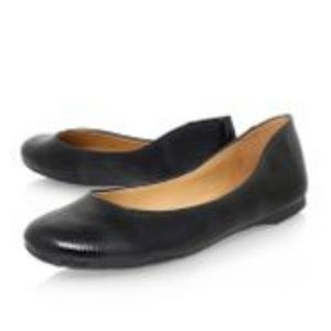 Nine West Fascinate Black Patent Ballet Flat 9M